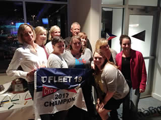 Fleet Champion -- Pursue -- Sue MyIntyre & Suzie Florence