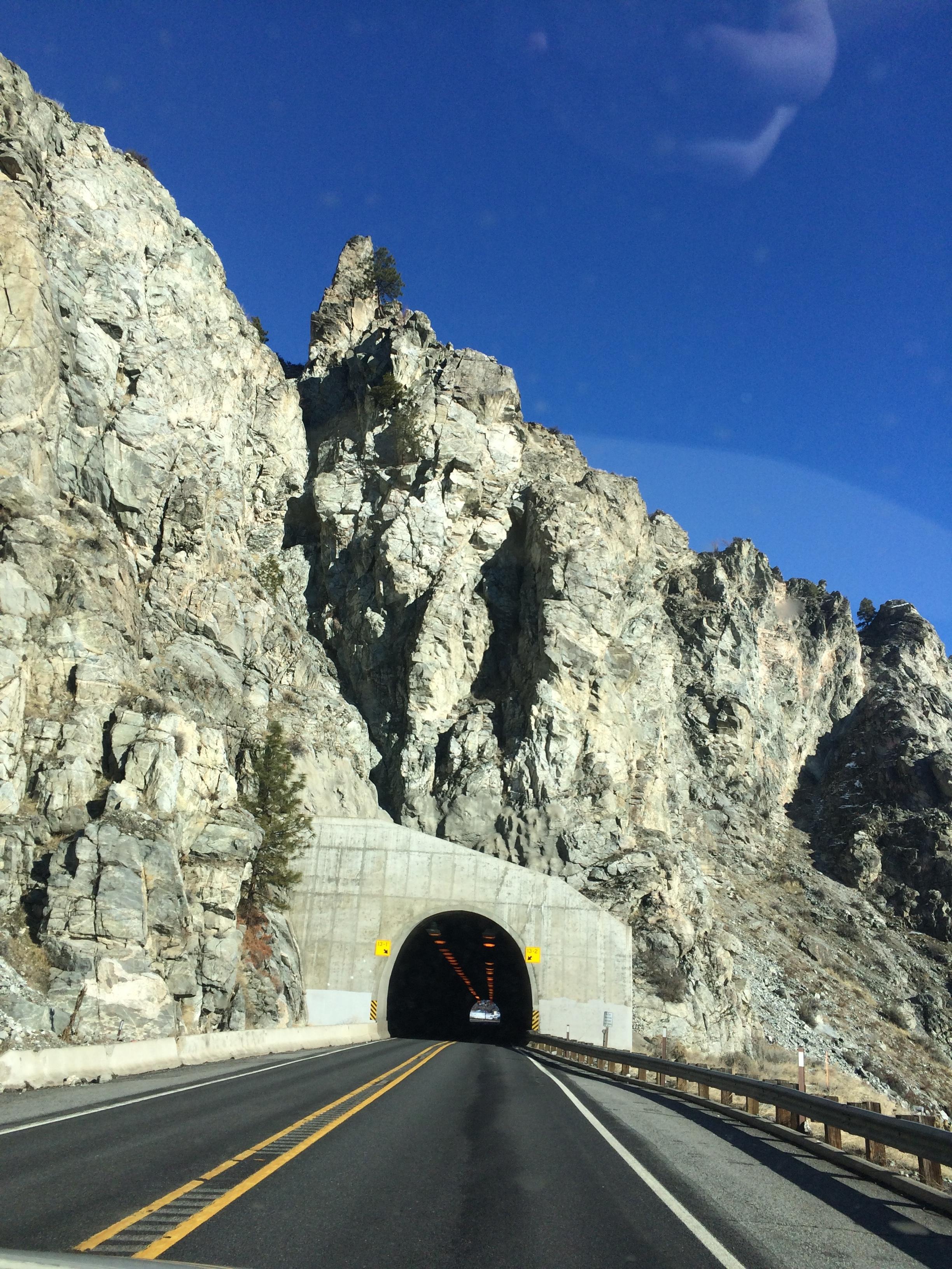 Tunnel on US- 97 Alt N