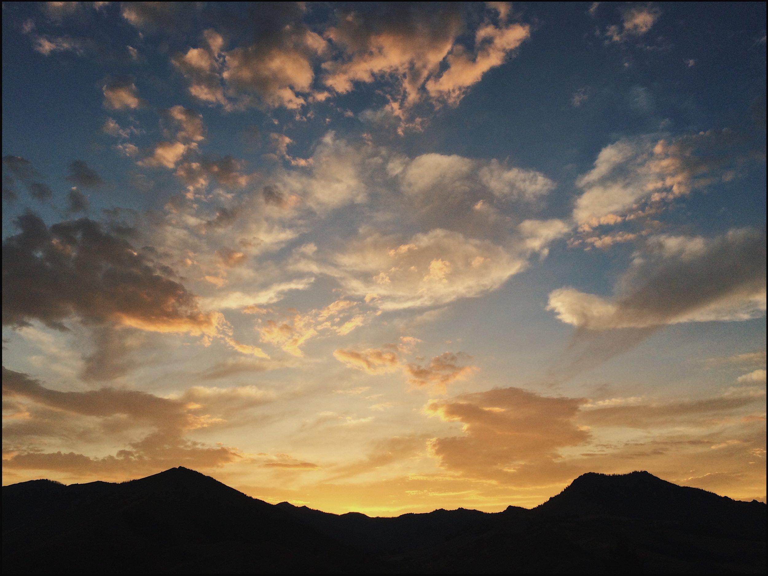 Sunset Trail, Idaho