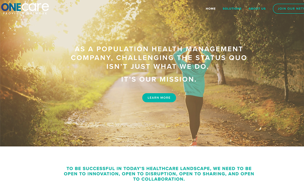 One Care Provider Network -