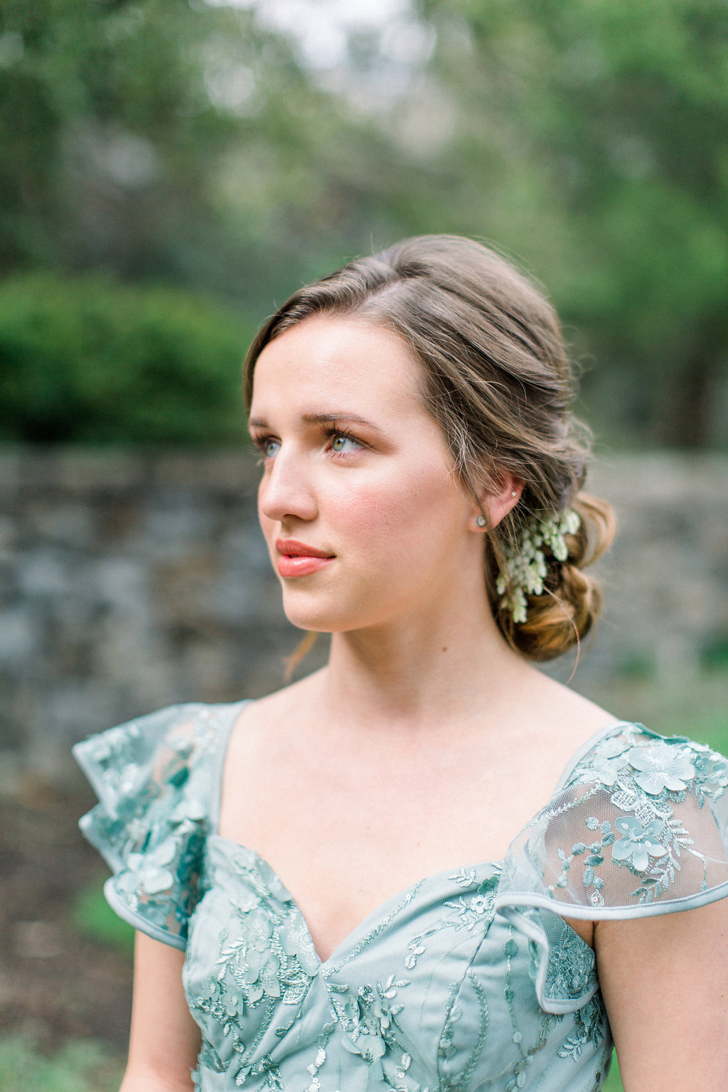 Gorgeous Bridesmaid Portrait.