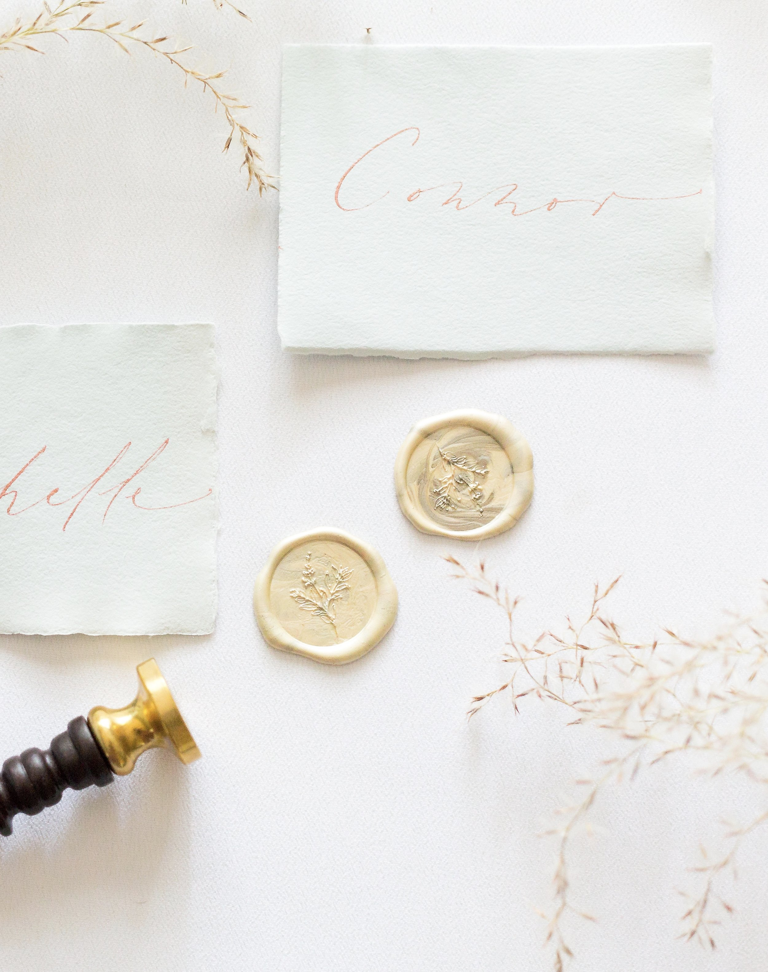 Timeless Romantic Wedding Calligraphy Invitation Suite - Esperanza Atelier Fine Art Calligraphy. Bespoke Wedding envelope Calligraphy Houston weddings -  Houston Calligrapher.