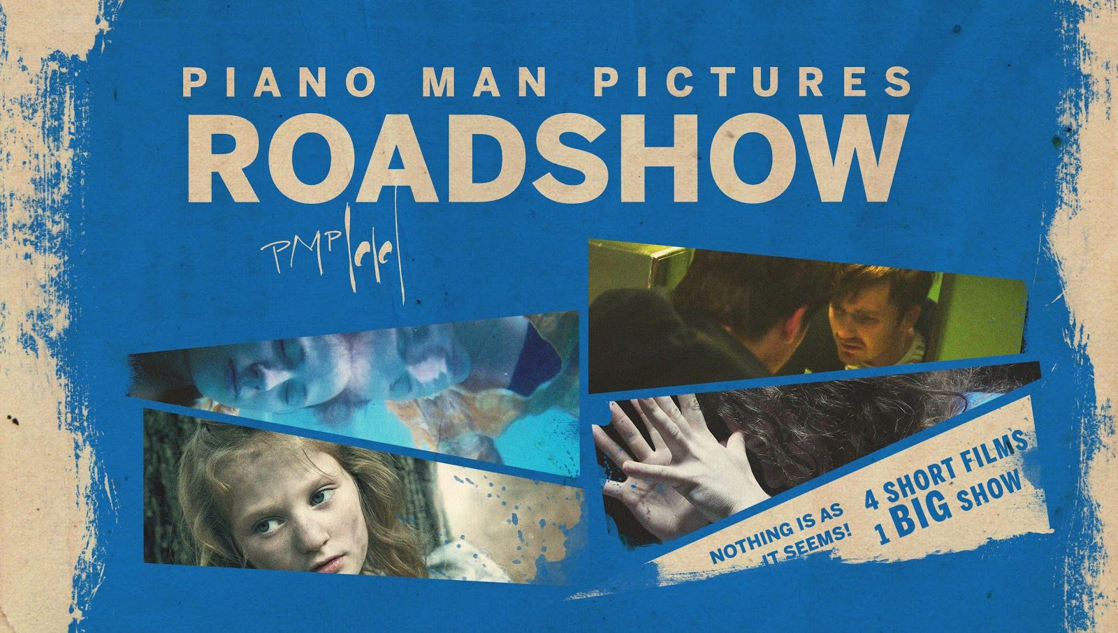 Piano man Pictures Roadshow Poster Blu Ray