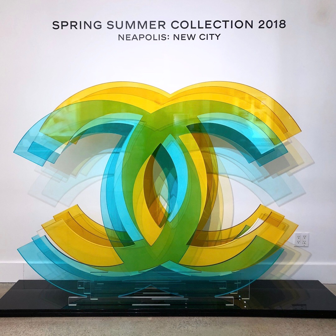 CHANEL SS'18 ANIMATION at HOLT RENFREW, Bloor St
