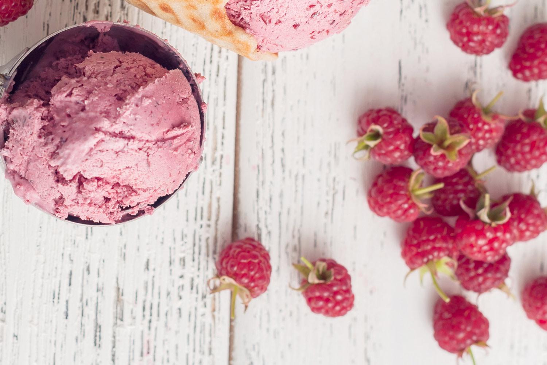 Berry Vegan Ice Cream