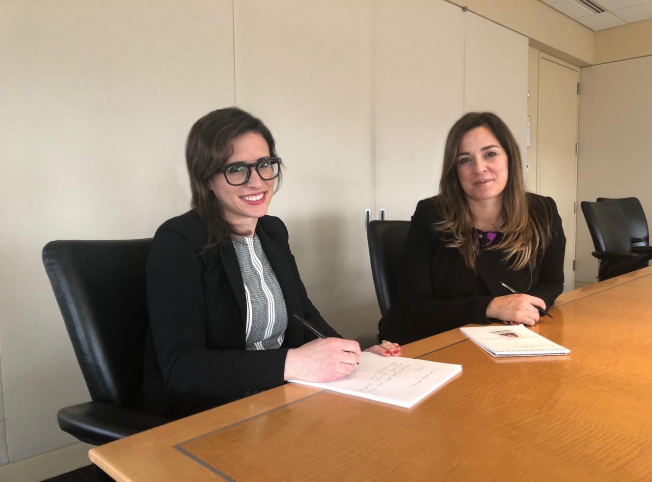 Lauren Tanenbaum & Belinda Pestana