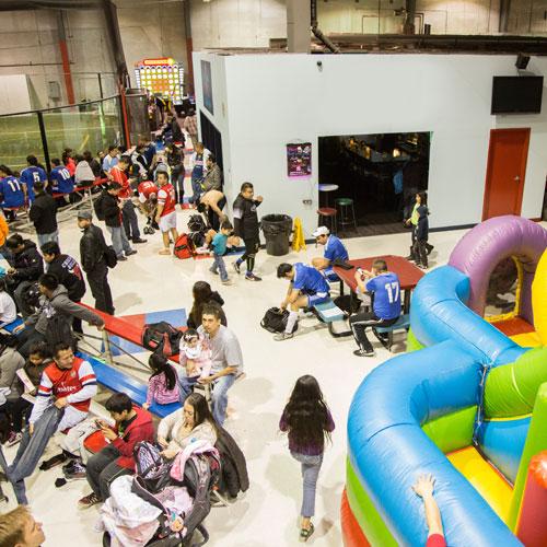 Chicago Indoor Sports Entertainment Health Fairs