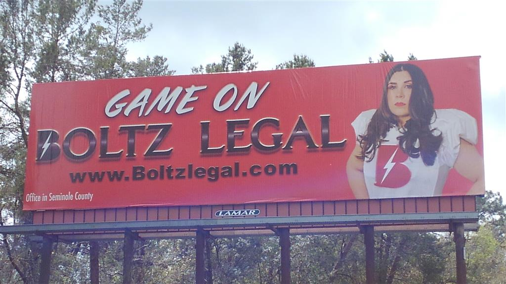 Our first billboard