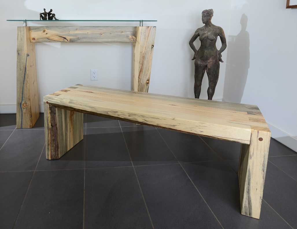 box joint bench