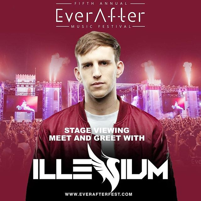 We have teamed up with Ever After Music Fest to offer you a chance to win 2x 3-day VIP tickets to @everafterfest, a meet & greet with @illeniummusic and on stage viewing of his set at the fest! 🐉⚡🏰 Head to our FB for contest rules!  We'll be announcing our lucky winner on Thursday May 9th! 🔥 Good luck everybody 🍀 ** Very important, winner must be 19+ #valhallasoundcircus