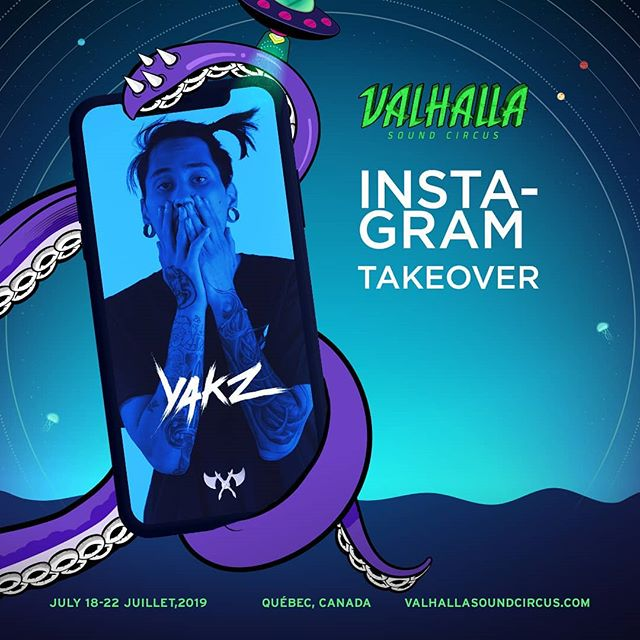SURPRISE FAM! @yakzdubs will be taking over our story tomorrow at 8pm EST 😎🦑 Be sure to tune in and join in, he may have some special guests and giveaways to announce ⚡🔥