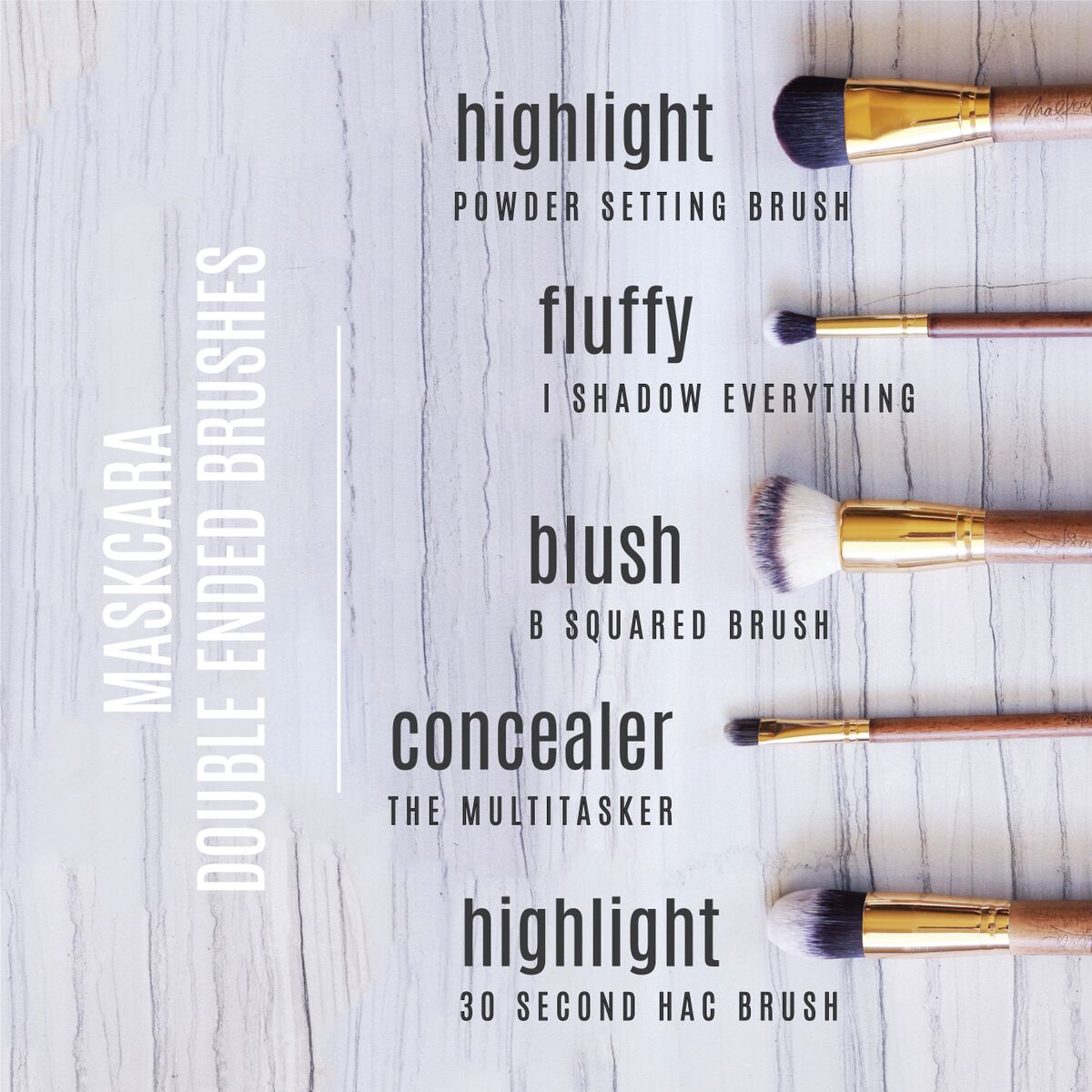 Maskcara Brushes