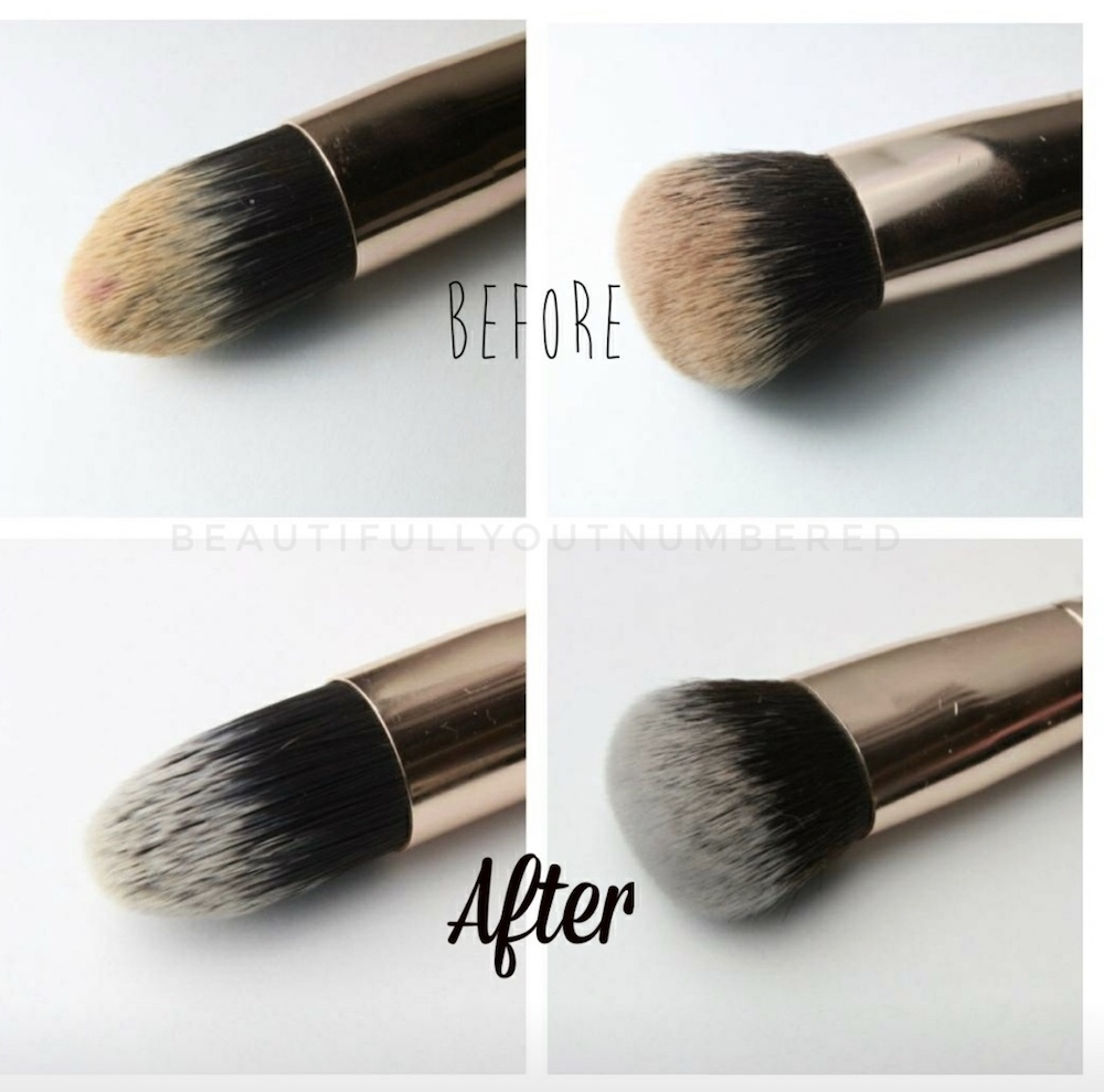 How to Clean Makeup Brushes with Maskcara Restore Brush Cleaner