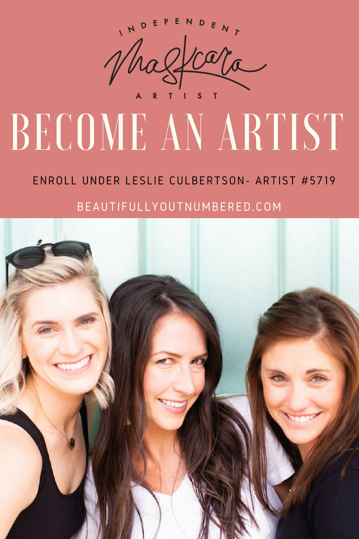 Enroll under Leslie #5719 - Become a Maskcara Artist - Join me and my gals!