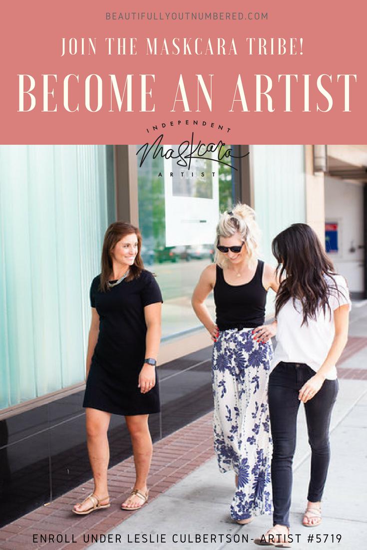 Become a Maskcara Artist. #5719