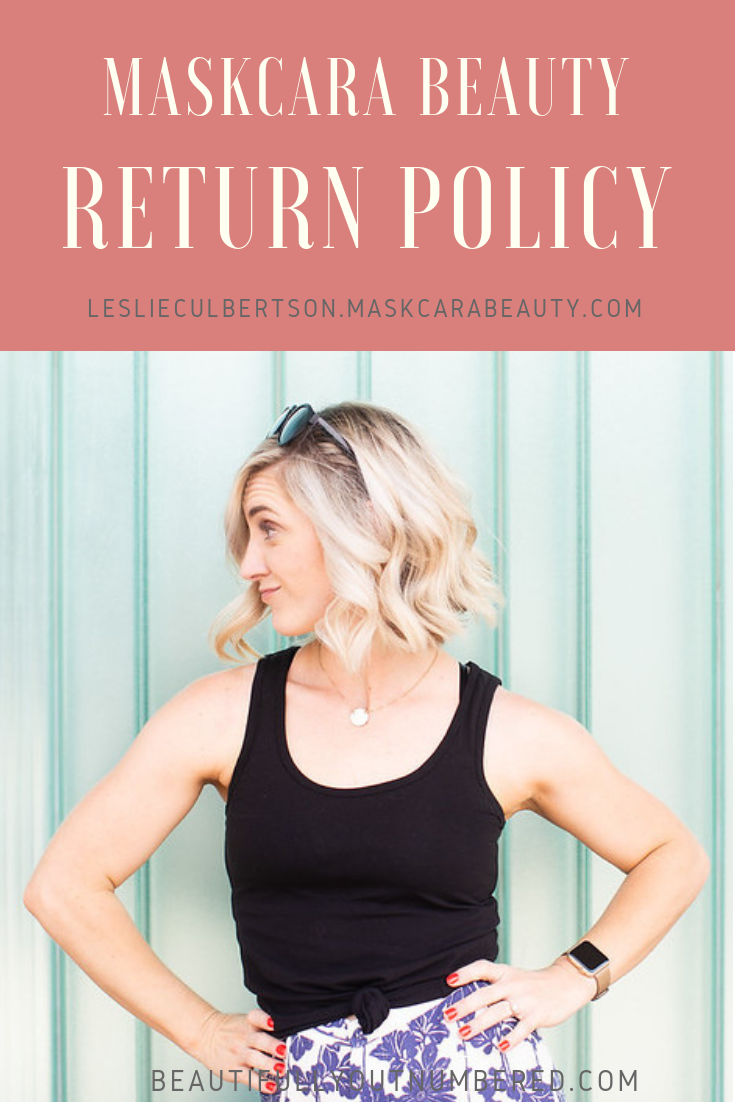 Maskcara Return Policy and Exchange Policy is Amazing!