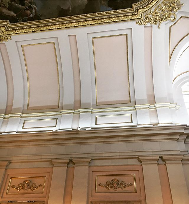 Inspiring colors in the Royal Palace Madrid #elegance #opulence #breathtakingdecor