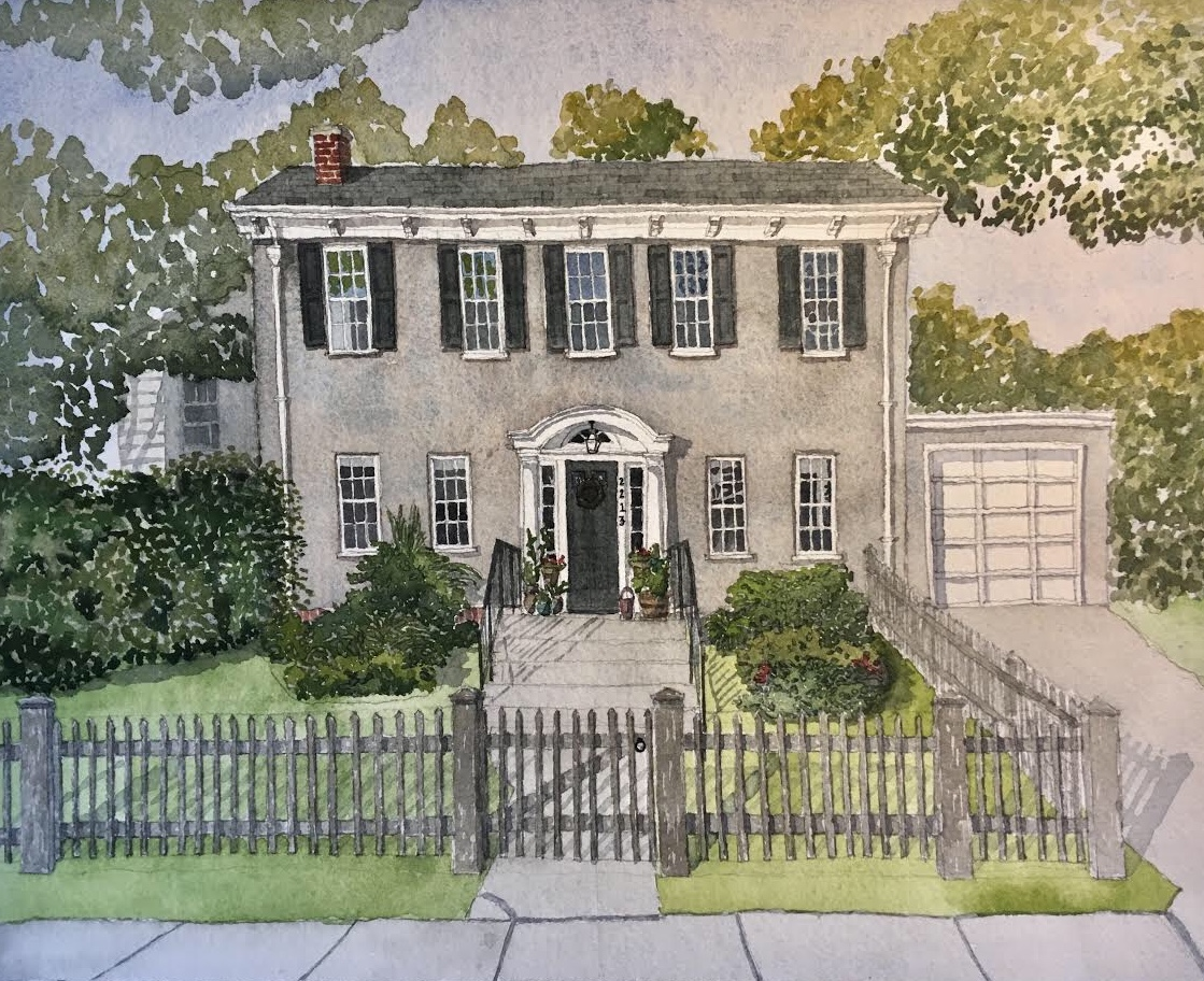Recent commission of an Evanston home