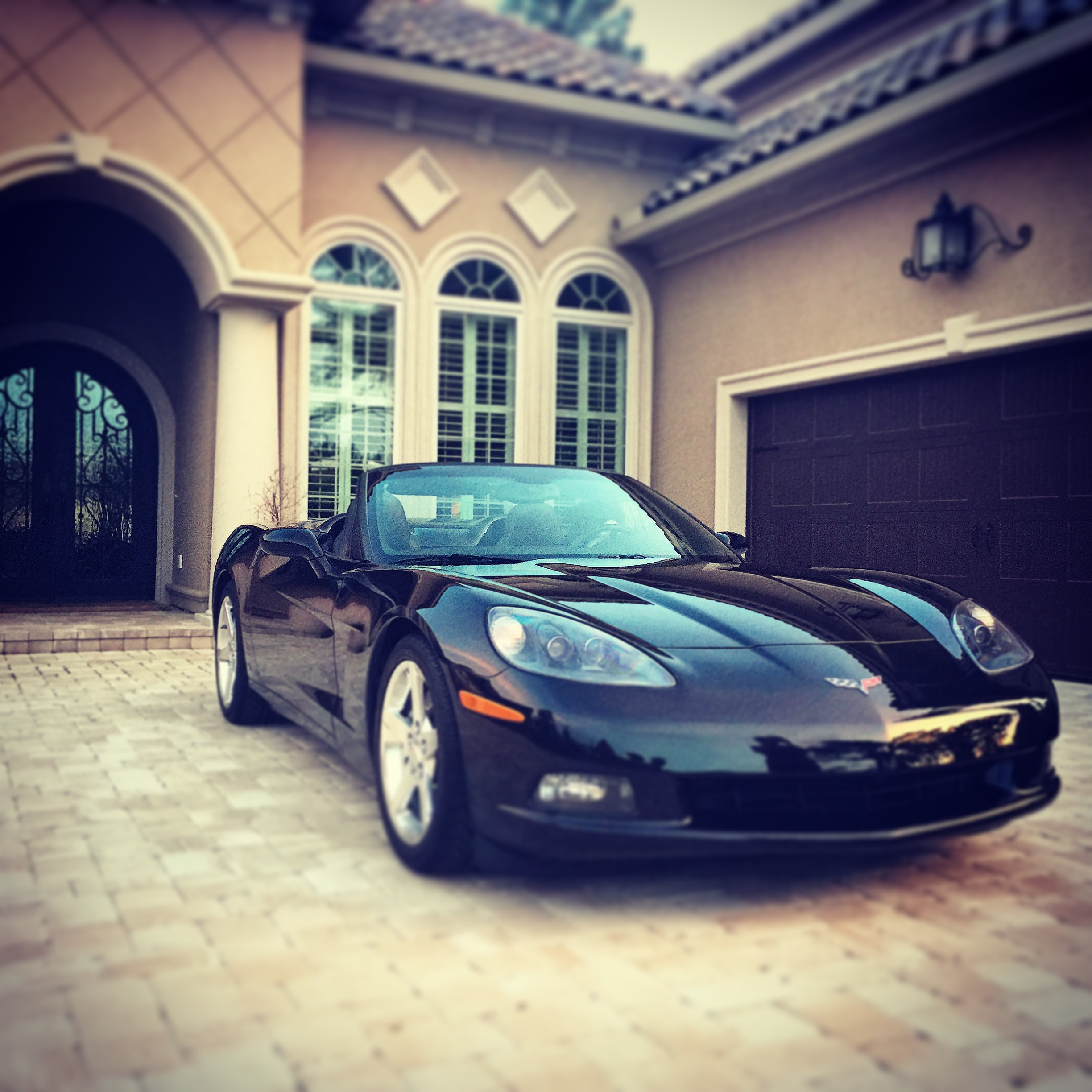 Want a Corvette? Want a nice house? Work hard and get paid.