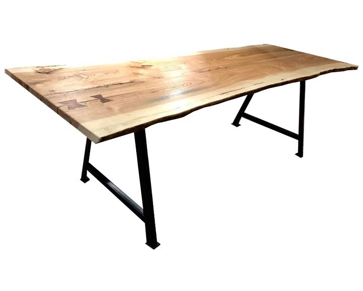 Live Edge Ash A-Frame Dining Table.jpg