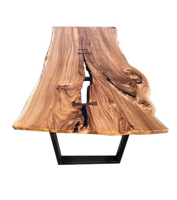 Live Edge Elm Dining Table with Open Crack & U-Legs.jpg
