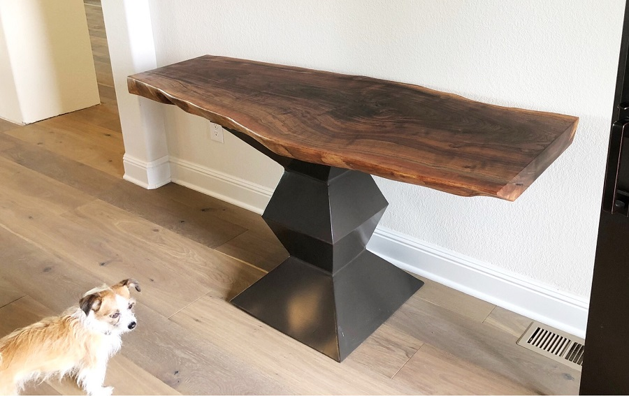Live Edge Console and Geo Steel Base.jpg