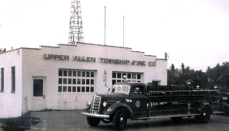 Mack ladder truck (no aerial device) donated to the Upper Allen TWP, PA, Fire Company   Photo By Thomas Fahey