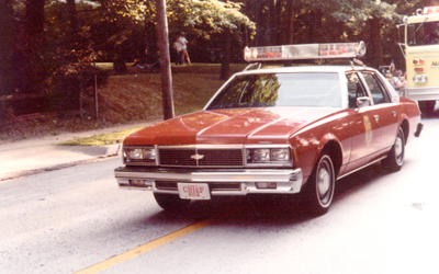 ...and this sedan served 1st Assistant Chief 802