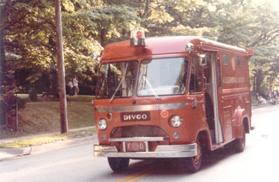 This DIVCO Rescue truck served as 8011