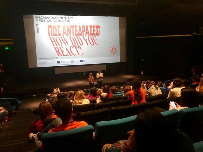 World Premiere at the Thessaloniki Documentary Film Festival