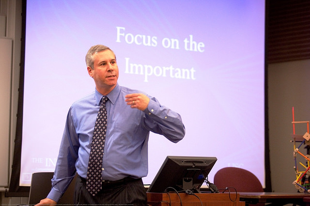 Joel Bookman training and coaching on community development