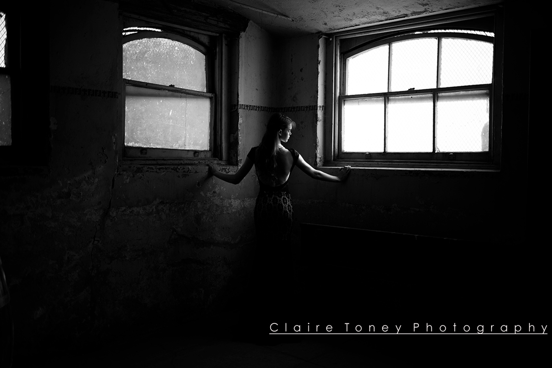 Photoshoot with Emily Turner at the Preston Castle. Photo credit: Claire Toney Photography