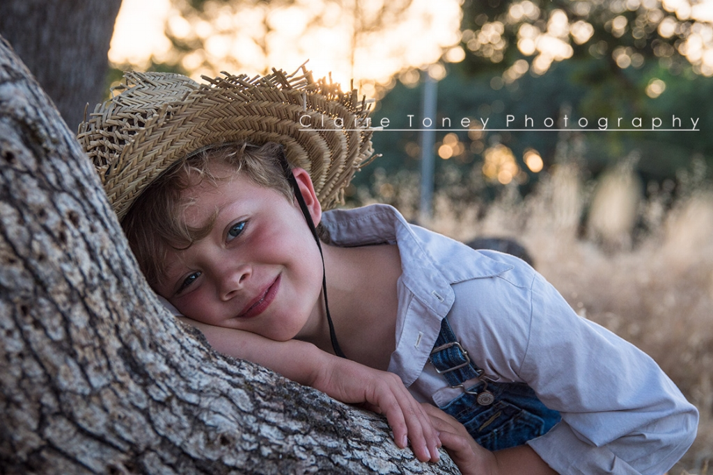 Child portrait session in Orangevale CA. Claire Toney Photography, Sacramento Photographer