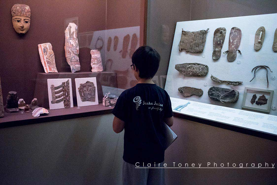 Artifacts of Everyday Life in Ancient Egypt. Taken at Rosicrucian Museum in San Jose, CA. Photo by Claire Toney
