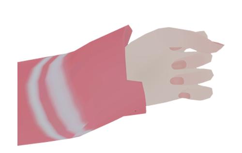 Closed Fist : Surprised