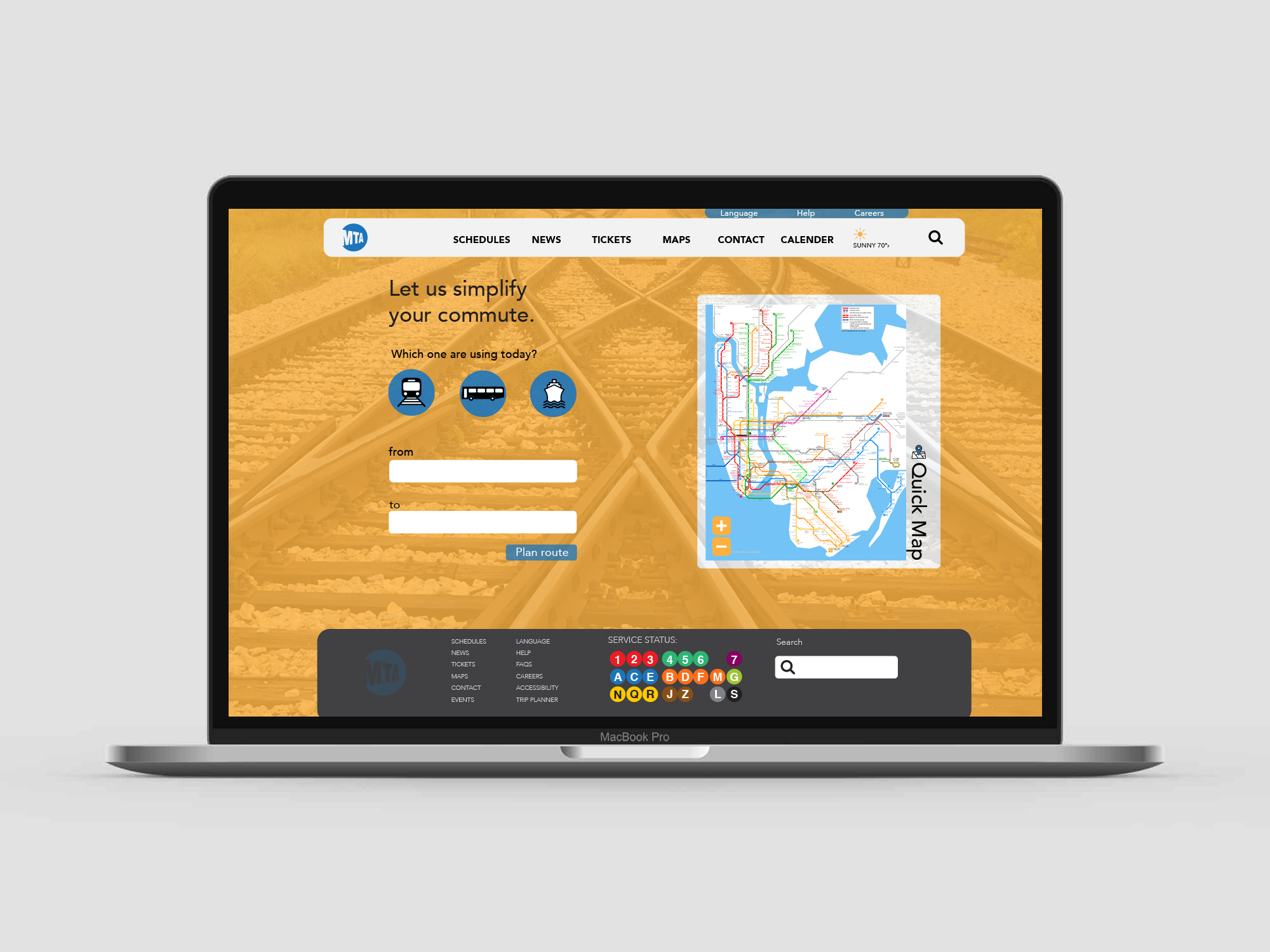 MTA Redesign — DUBOIS MADE