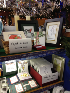 The Makino Studios section at the Pierson Christmas Fair in Eureka, California, running through December.