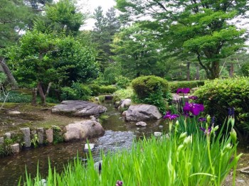 Kenroku-en garden in Kanazawa is considered one of the top three gardens in Japan.