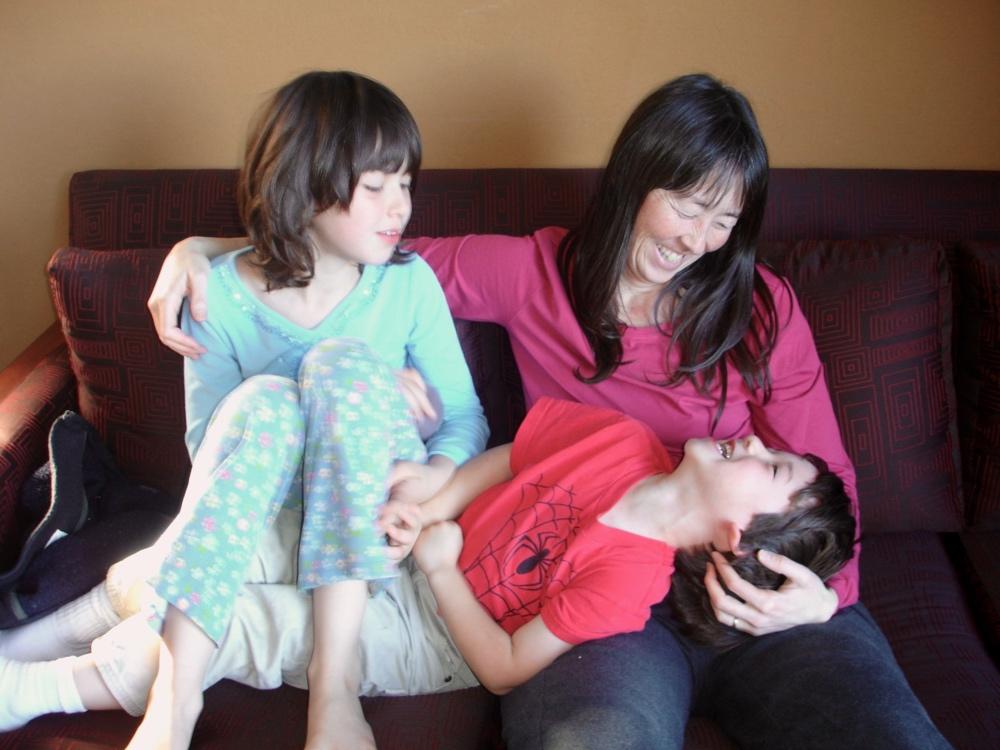 A parenting moment circa 2006.