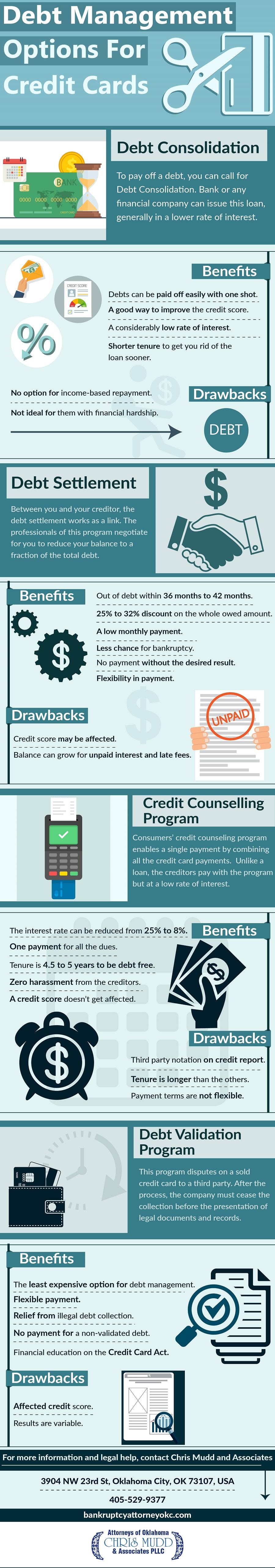 Debt Management Options For Credit Cards