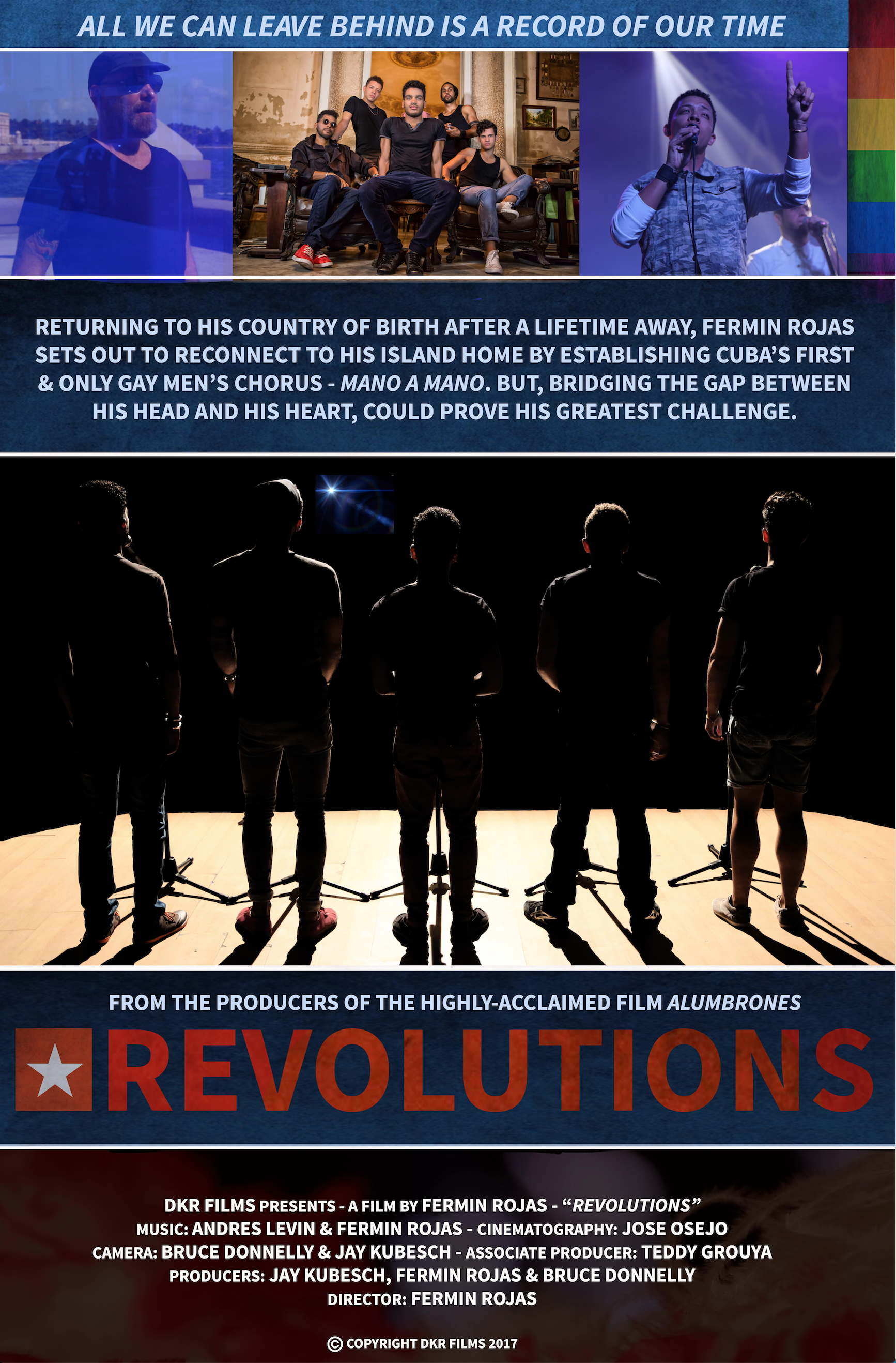 REVOLUTIONS - DOCUMENTARY FEATURE