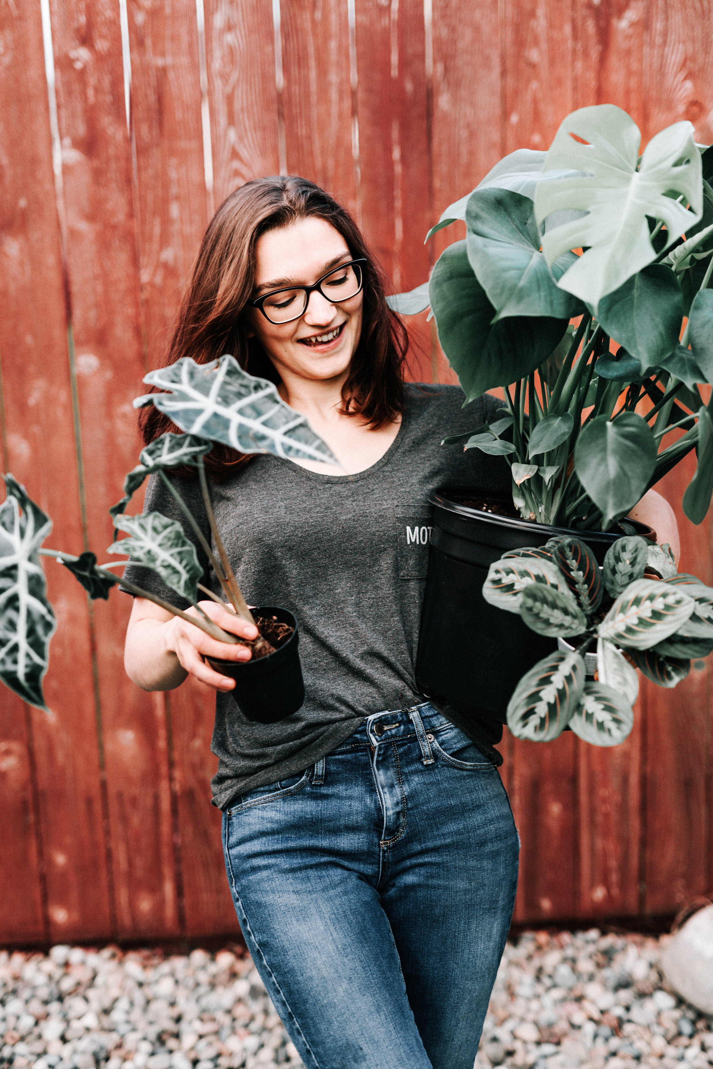 Hey there,My name is Dusty Hegge. - I am your houseplant instructor! I have had houseplants under my care since I was about 8 years old and I have learned so much since then. My goal is to help you get rid of plant shame and replace it with confidence, fun, and curiosity.I can't help but see the parallels between plant growth and human growth and I know that is by God's design.I am so ready to love on you, encourage GOOD growth, and teach you how to keep your houseplants alive.I can't wait to get planty with you!(And continue to make all the plant puns. Don't worry, they won't be dirty.)hahahahaha!See, I told you. I'm a hoot.The next five weeks are going to be incredible!