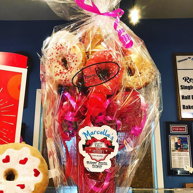 Can't decided whether or not to do doughnut bouquets this year. Any thoughts? #valentinesday