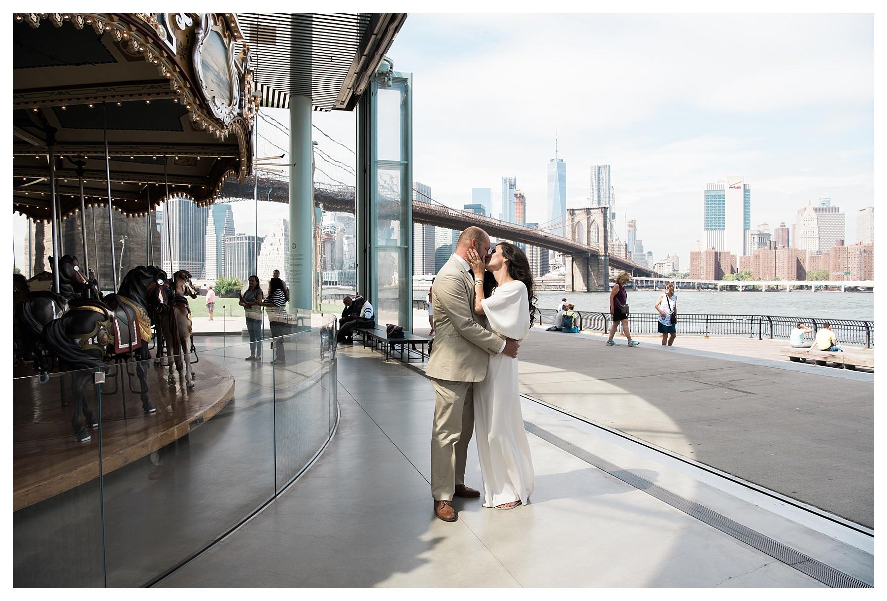 New York Elopement Wedding By Glasgow Wedding Photographer Lynsey Jackson