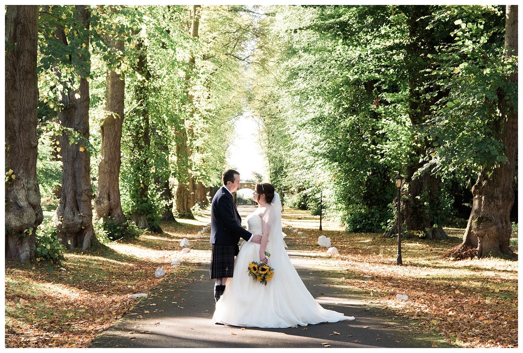 Carberry Tower Wedding by Edinburgh Wedding Photographer