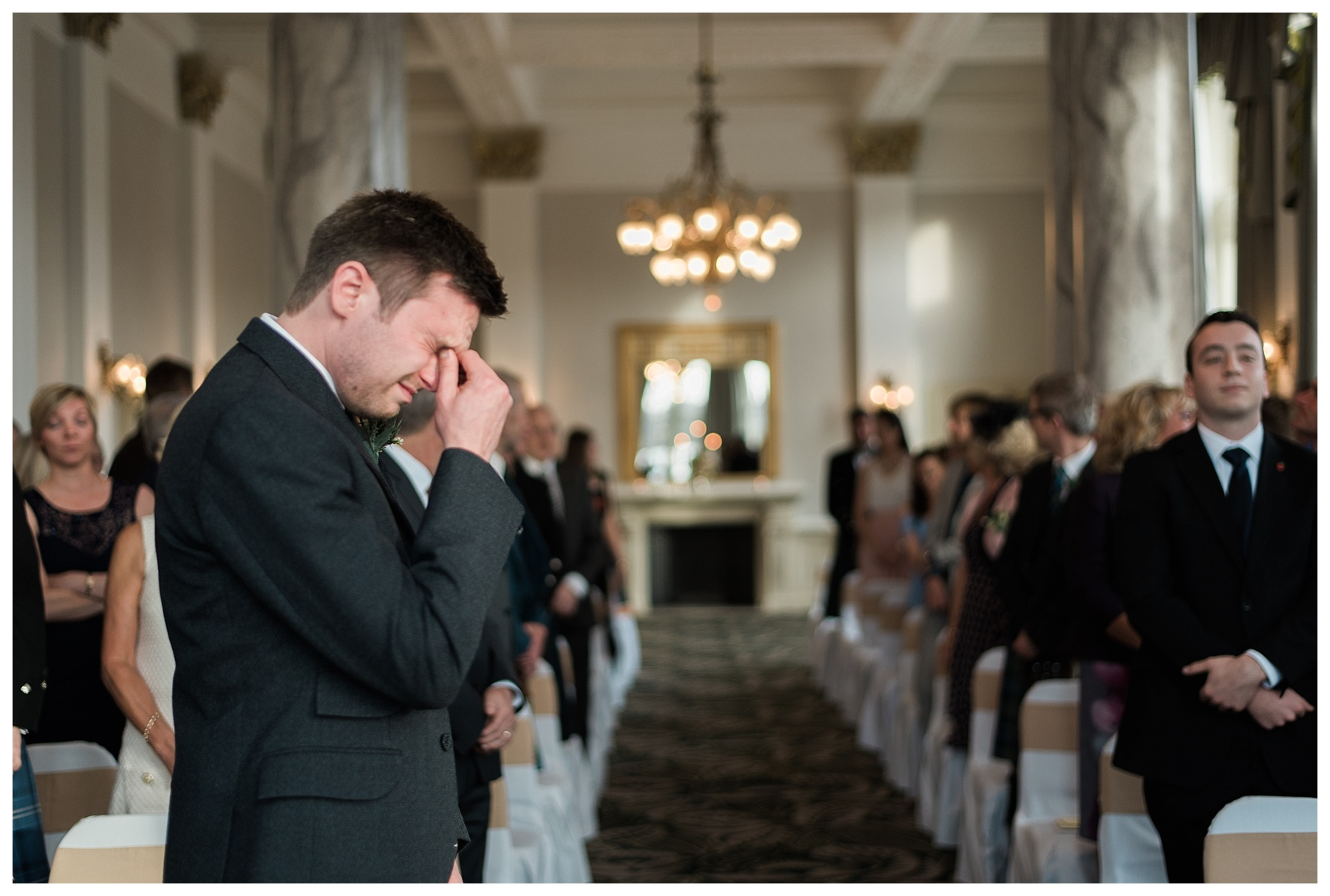 The Balmoral Hotel Wedding Photographer Edinburgh