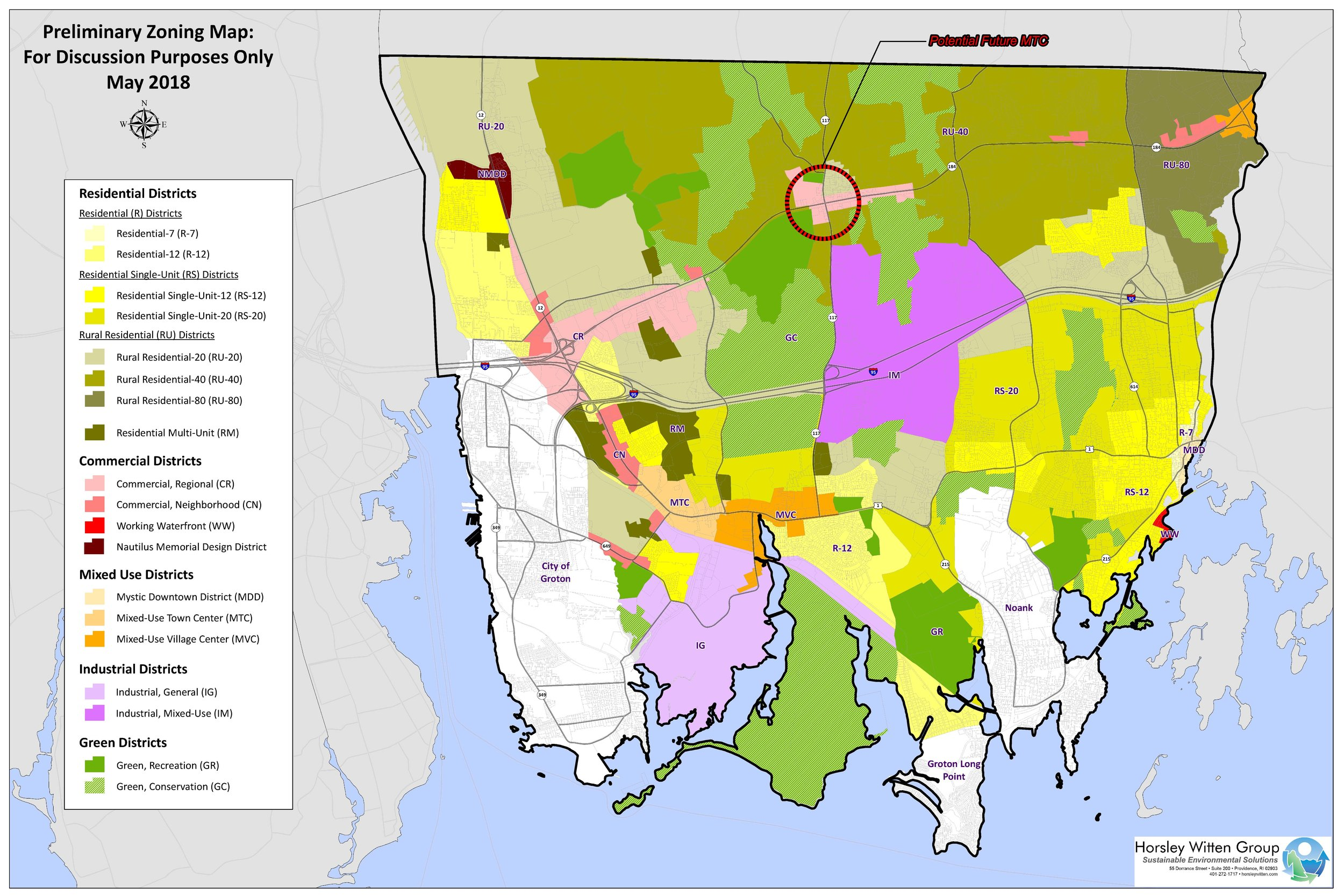 Draft Updated Zoning Map — Town of Groton Zoning Update