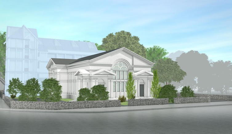 SCHEDULED BUILDING ADAPTIVE RE-USE AT VIEW WEST, MT EDEN (ST JAMES CHURCH, ESPLANADE ROAD)