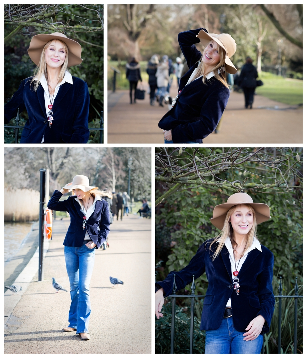 Personal branding photoshoot in London