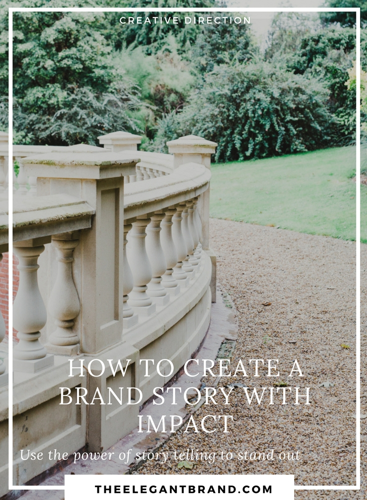 Create a brand story with impact